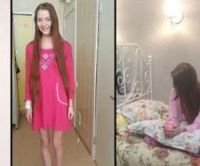 Natasha Serebriy , înainte și după ce a scăpat din mâinile celui care a transformat-o în sclavă sexuală - Foto: Daily Mail (east2west news)