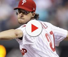 Aaron Nola is key for the Phillies this season. [Image via NBC Sports/YouTube]