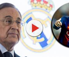 El presidente del Real Madrid Florentino Pérez