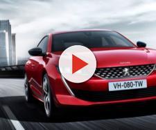 Il frontale della nuova Peugeot 508  Evo - evo.co.uk