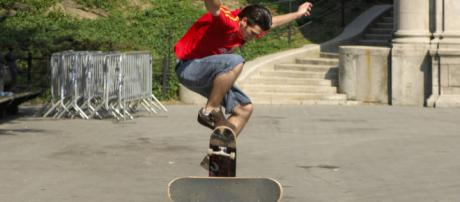 Skateboarding is making a comeback [Image via: Godot13 on Wikimedia Commons]