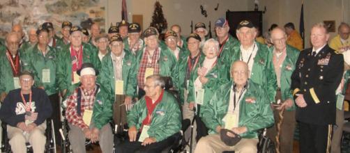 A group of U.S. Army WW2 veterans. - [Photo via The U.S. Army - Flickr]