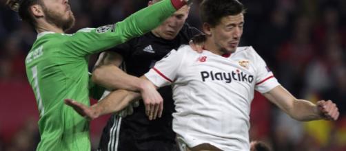 De Gea salvo al Manchester de perder ante el Sevilla