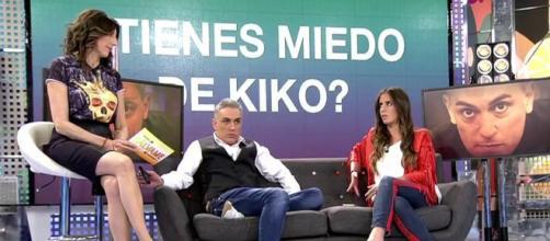 El miedo a Kiko Hernández en Sálvame.