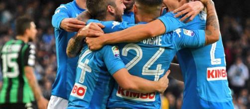 Europa League: grande prestazione del Napoli, battuto il Lipsia 2 a 0