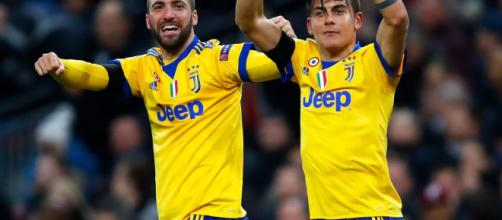 Higuain and Dybala scored at Wembley against a brave Tottenham Hotspur- thesun.co.uk