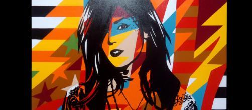 Kat Von D -- Lobo Pop Art/Flickr