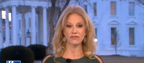 Kellyanne Conway at the White House, via YouTube