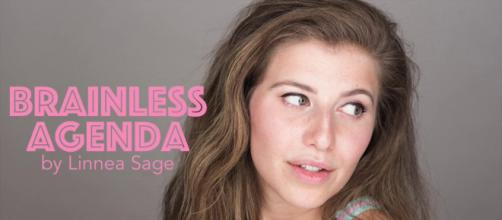 "Linnea Sage is the creator of 'Brainless Agenda."" / Image via Clint Morris, October Coast PR."