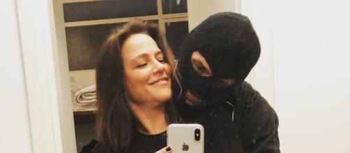 Viviane Pasmanter e o namorado, ex de Luiza Poissi (Foto: Instagram)