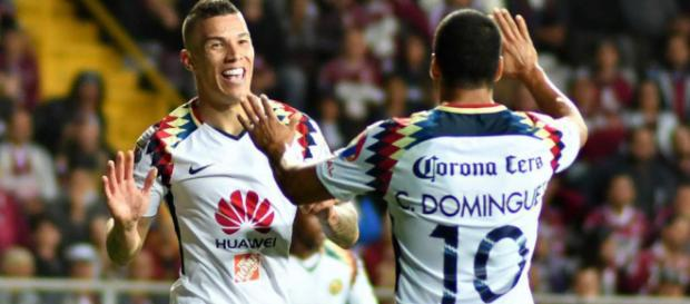 América goleó al Saprissa de Costa Rica