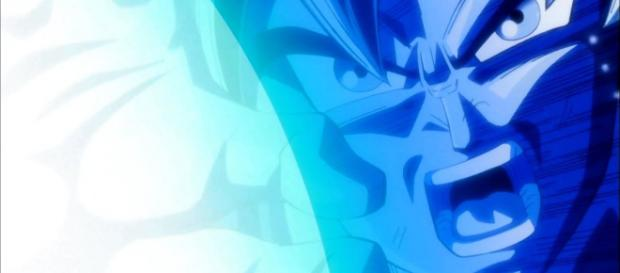 'Dragon Ball Super' Spoilers: Goku's surging power makes Jiren smile.[Image Credit: DBS seven/YouTube Screenshot]