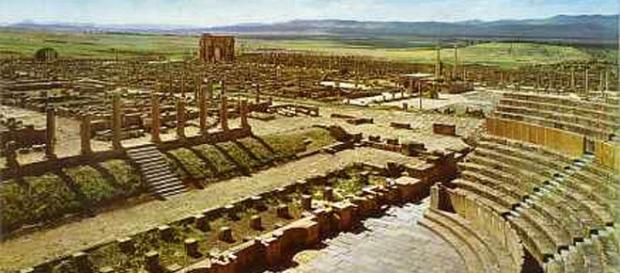 Fatos históricos sobre Timgad, Argélia