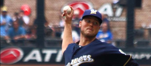 Jimmy Nelson is out until at least June. Which Brewers' pitcher can fill the void until then? - Steve Paluch/Wikimedia Commons