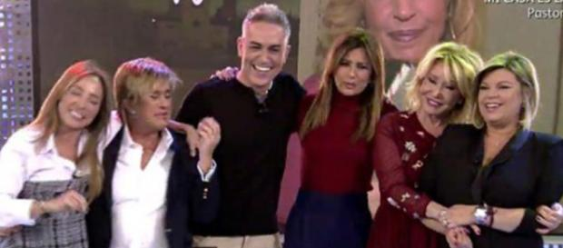 Los colaboradores Sálvame en Telecinco