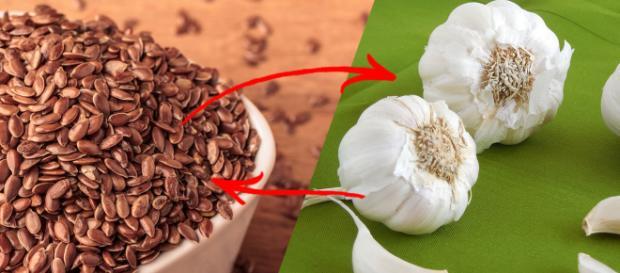Mezcla de ajo con linaza para desintoxicar tu Cuerpo