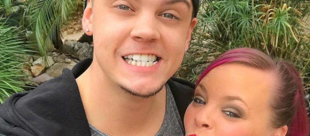 Tyler and Catelynn Lowell from a social network post