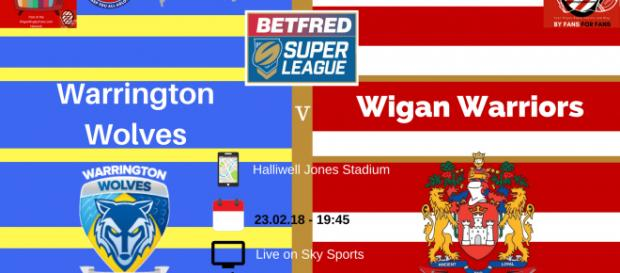 Warrington Wolves v Wigan Warriors