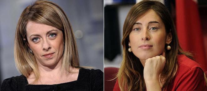 Giorgia Meloni: 'Boschi presidente del Consiglio? Un colpo di Stato'