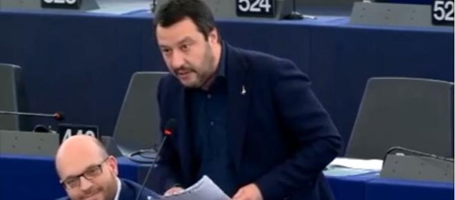 Matteo Salvini: 'Il Parlamento Europeo vuole imbavagliare Facebook'