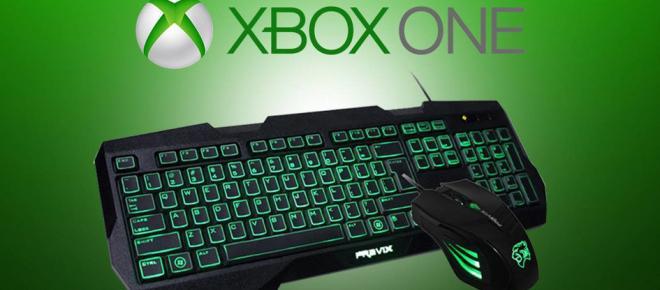 Cómo usar un teclado y mouse en Xbox One
