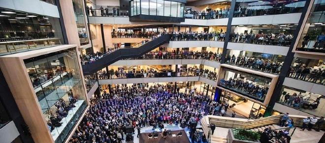 Microsoft abre un nuevo campus de € 134 millones en Dublín