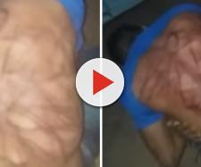 Jovem é agredido por membros de facção (Captura de vídeo)