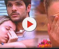 Lucas e Jéssica no ''BBB18'', da Globo
