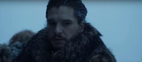 Jon Snow's final suicide mission. - [Image via SD Mookie / YouTube screencap]