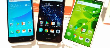 Los teléfonos inteligentes cada vez tienen mayor gama.