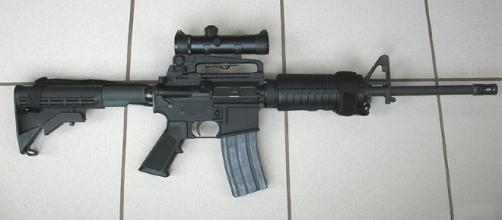 AR-15 [Image via Stag-1500/Wikimedia Commons]