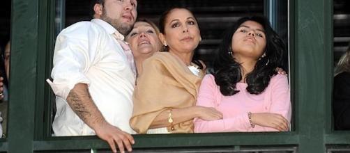 Isabel Pantoja y su rota familia