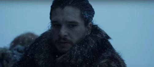 Jon Snow's final suicide mission. - [Image via SD Mookie / YouTube screencap]