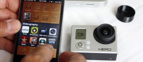 La cámara Go Pro suele ser utilizada por quienes les gusta viajar.