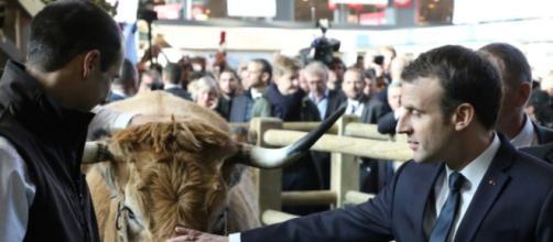 Macron en «terre de conquête» au salon de l'Agriculture - Libération - liberation.fr