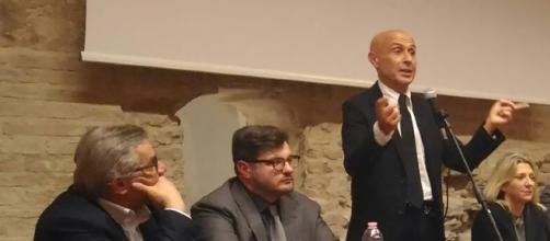 Marco Minniti ha parlato della questione migranti - (Ph. Anna Marchetti)
