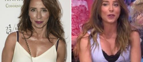 María Patiño se opera el pecho y lo estrena en 'Sálvame' - elespanol.com