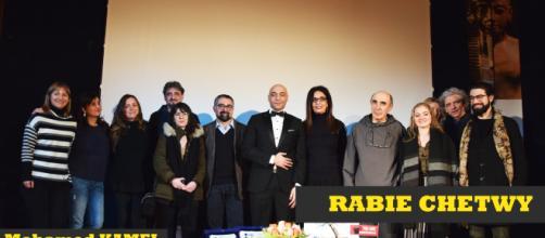 Premiazione di Mohamed KAMEL all'accademia d'Egitto a Roma