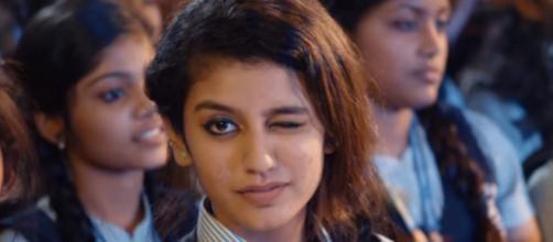 Priya Prakash Varrier: (Image via Musiz247/YouTube screencap)