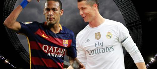 Real Madrid, PSG : Neymar pousse Cristiano Ronaldo au bras de fer ! - butfootballclub.fr