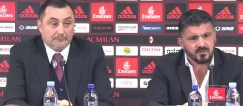 Ultime notizie Milan, parla il tecnico Gattuso