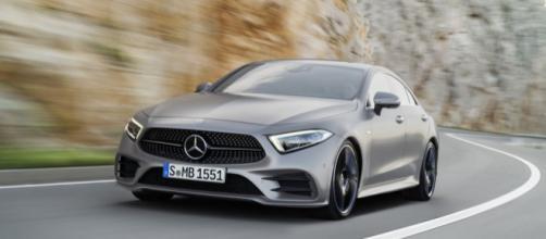 Una foto della nuova Mercedes CLS - com.au