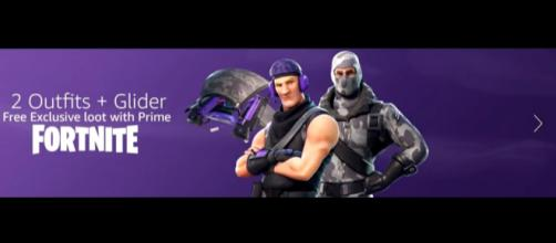 Upcoming 'Fortnite' Prime exclusives. - [Ears / YouTube screencap]