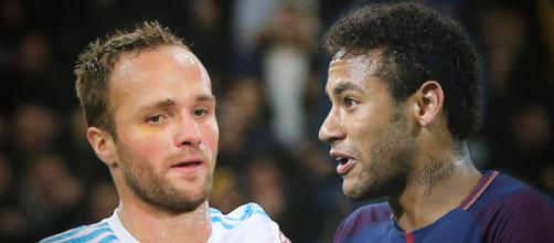 Valère Germain tacle Neymar Jr