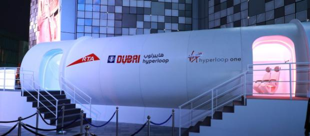 El nuevo prototipo de cápsula presentado por Virgin Hyperloop One