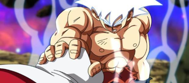 Goku demuestra su nueva técnica para vencer a Jiren