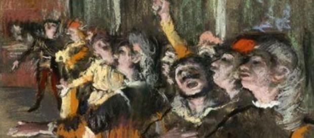 Hallan cuadro de Degas en un autobús en París