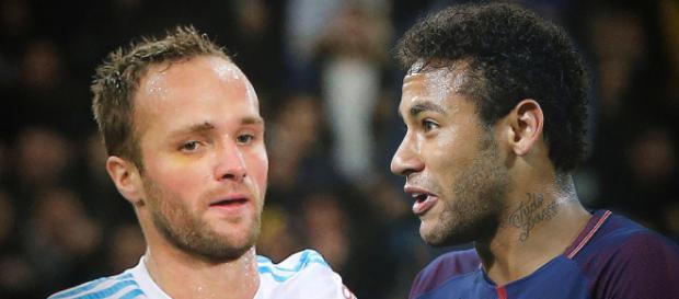Valère Germain tacle Neymar Jr