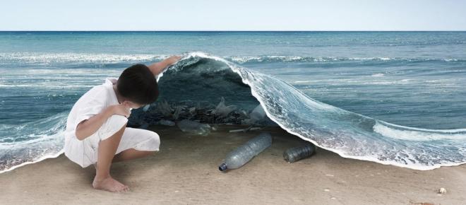 ¡Los plásticos están arruinando la vida marina!