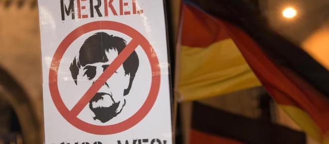 Merkel will nicht weg, muss aber - Satire oder bitterer Ernst?